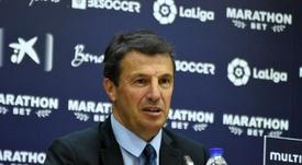 El entrenador malaguista habló del cambio de su equipo en la segunda mitad. BeSoccer