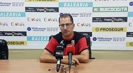 José Juan Romero seguirá hasta 2023. Twitter/ADCeuta_FC