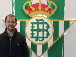 José Juan Romero, nuevo entrenador del filial del Betis. RealBetis
