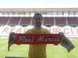 José Luis Acciari seguirá un año más vinculado al Murcia. RealMurcia