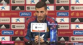 Gayà considera que los cuatro goles fueron pocos. Twitter/SeFutbol/Archivo