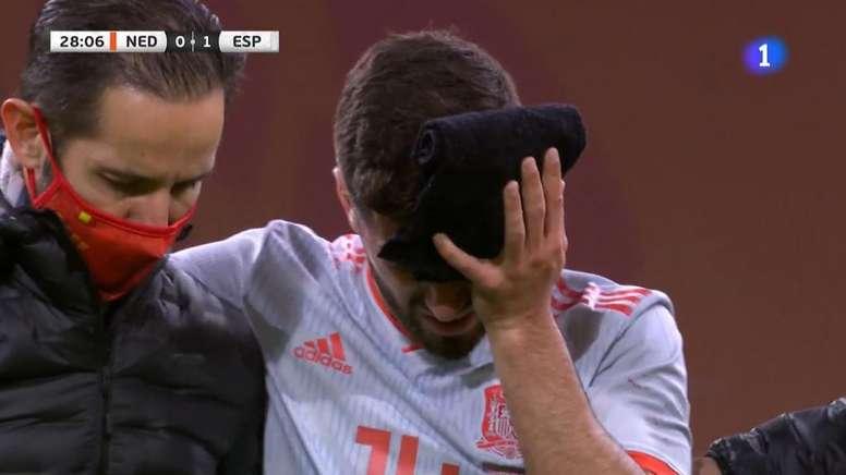 Gaya will stay with Spain. Captura/TVE