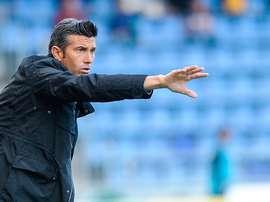 José Luis Martí señaló que no estaban contentos con la actuación del árbitro. EFE/Archivo