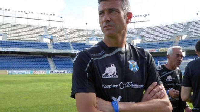 Martí ha dado la lista de los jugadores que estarán ante el CD Numancia. CDTenerife
