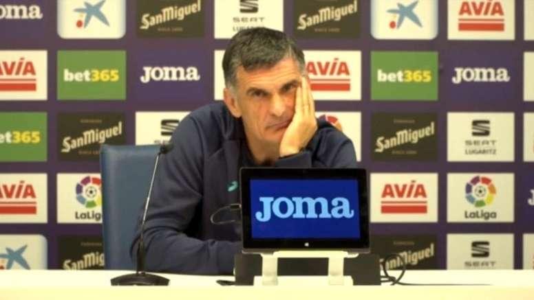 Mendilibar opinó sobre Valverde. Captura/SDEibar