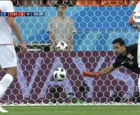 Le deuxième but du Panama en Coupe du monde. Capture/TVN