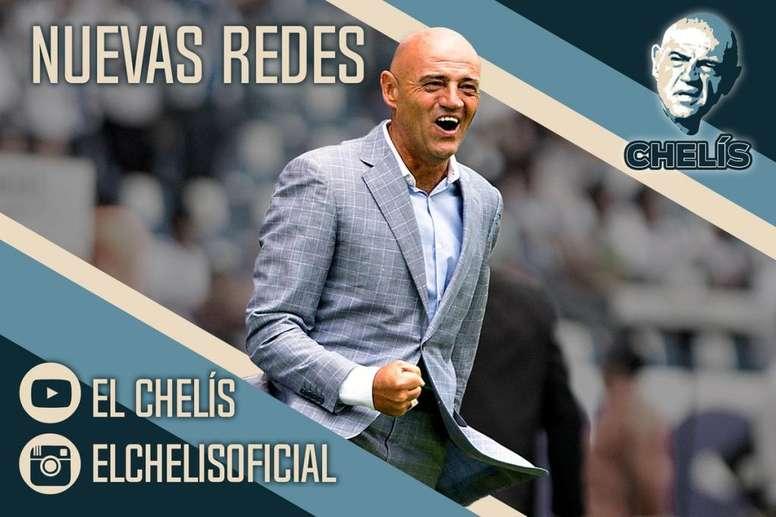 Chelís vivirá su cuarta etapa en Puebla. Twitter/Elchelis