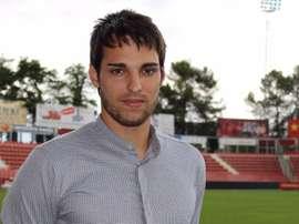Manel militó durante el pasado año en el Sabadell. GironaFC