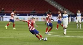 Atlético de Madrid liga a turbina pela Champions. Twitter/Atleti