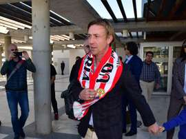 Ex-Real Madrid star Guti is now in Almeria. EFE