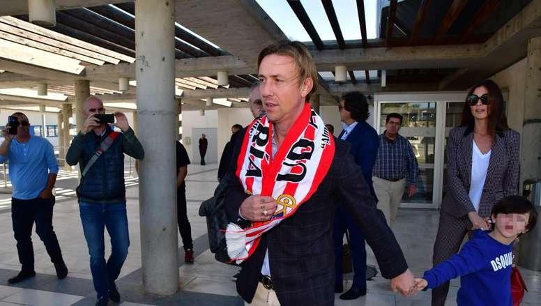 Ex-Real Madrid star Guti is now in Almeria. EFE