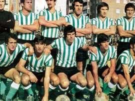 José María Mellado vistió los colores verdiblancos. RealBetisBalompié