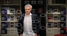 Mourinho miró la bola del futuro. Captura/RT