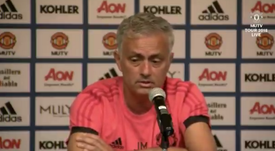 Mourinho quiere a Pogba motivado. Captura/MUTV