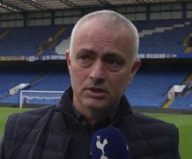 Mourinho évoque la situation difficile que vit actuellement Tottenham. Captura/SpursOfficial