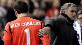 Mourinho le dedicó unas palabras a Iker. EFE