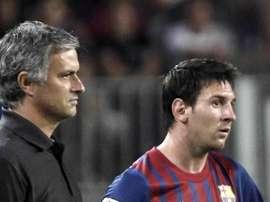 Mourinho ammira Leo Messi. EFE