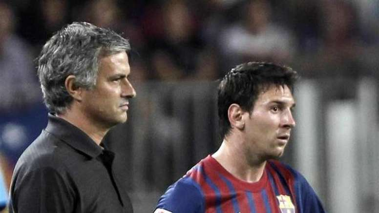 Mourinho admira a Messi. EFE