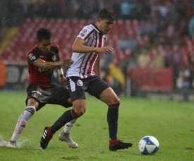 José van Rankin jogador do Chivas. Twitter @vanrankin0