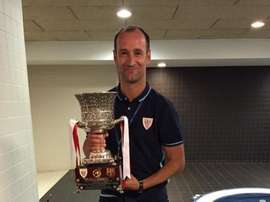 Joseba Etxebarria, nuevo técnico del Basconia. Twitter