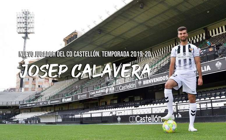 Calavera llega al Castellón. CDCastellon