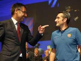 Bartomeu ha parlato del futuro di Valverde. EFE