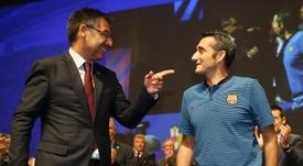 'MD' :  le Barça a communiqué à l'équipe la fin du 'feuilleton Neymar'. EFE