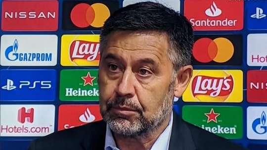 Bartomeu tomará decisões drásticas no Barcelona. Captura/MovistarLigadeCampeones