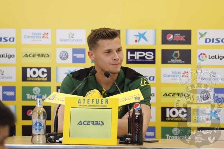 Josep Martínez habló sobre su presencia en el primer equipo. UDLP