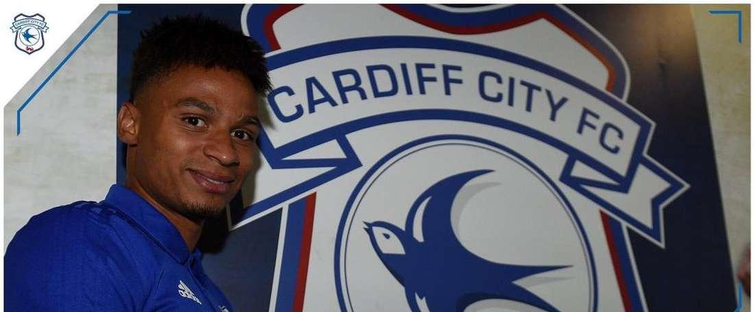 12.5 millions d'euros, c'est le prix de Josh Murphy. Twitter/CardiffCityFC