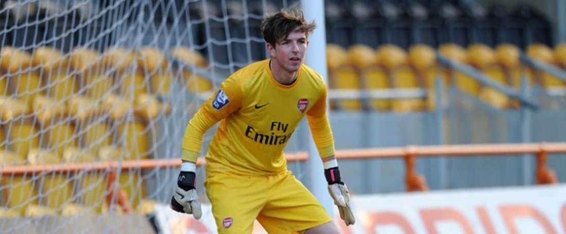 Josh Vickers, nuevo refuerzo del Swansea. Arsenal