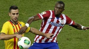 El jugador que prometía y decepcionó a Simeone. EFE