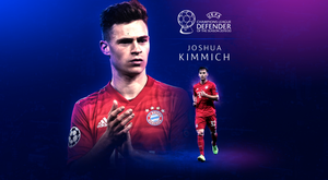 Kimmich has been named best defender. UEFA