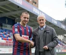 Josip Radosevic, que llegó en el mercado de invierno a la SD Eibar, podría volver a la liga de su país, concretamente al Dinamo de Zagreb. SDEibar