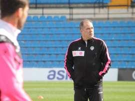 Candela confía en el nuevo técnico. CFHércules.
