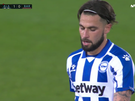 Jota was sent off. Screenshot/MovistarLaLiga