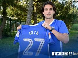 Jota has joined Birmingham from fellow Championship side Brentford. Twitter/BCFC