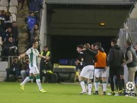 Jovanovic hizo doblete en el duelo ante el Extremadura. LaLiga