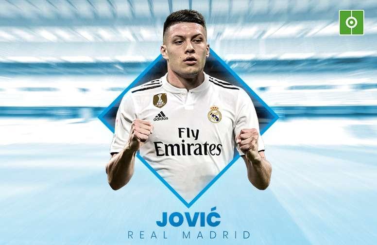Jovic, nouveau joueur du Real Madrid. BeSoccer