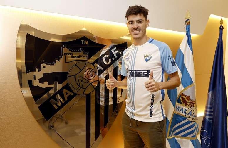 Jozabed jugará en el Málaga. MálagaCF