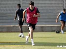 Jozabed es la principal novedad en la lista del Málaga. MálagaCF