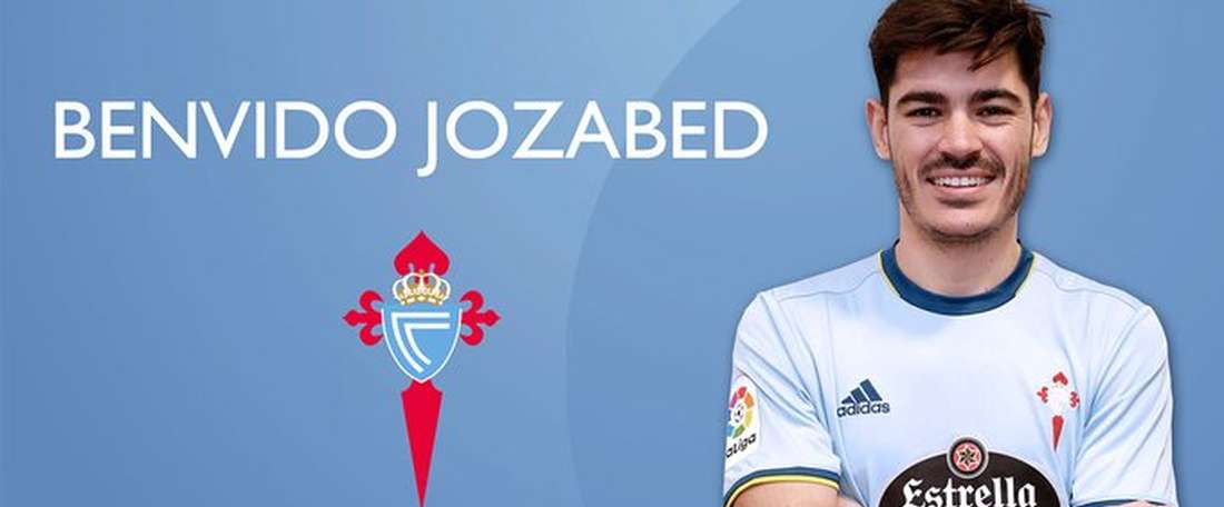 Jozabed Sánchez, novo jogador do Celta. Twitter/Celta