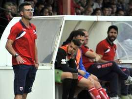 Moreno seguirá en el Numancia B hasta 2018. Numancia