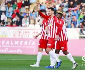 Juan Carlos Real marcó el 1-0. LaLiga