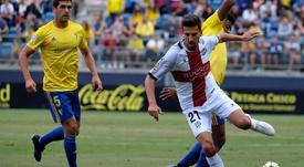 Juan Carlos se convirtió en una de las referencias del equipo. SDHuesca
