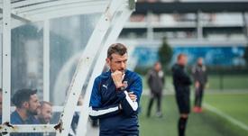 Unzué, despedido por el Girona. Twitter/GironaFC