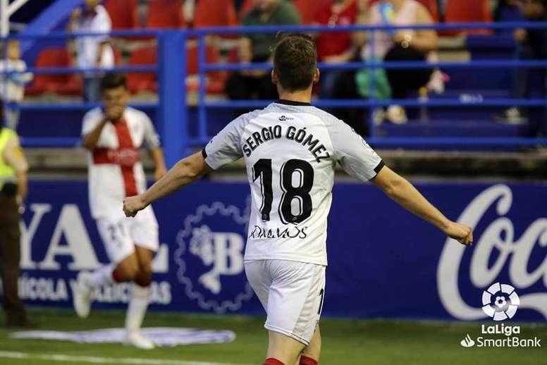 Sergio Gómez fue el autor de la asistencia del gol. LaLiga
