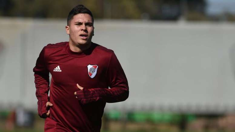 Quintero se pierde la final de Copa. RiverPlate