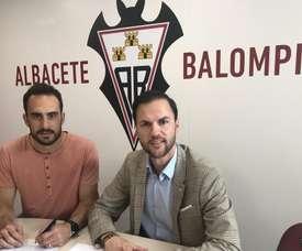 Gentiletti ya fue presentado en el Albacete. Albacete