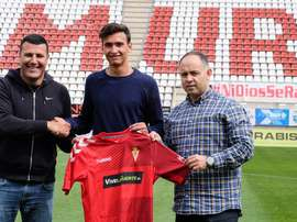 Nuevo contrato para Juanma en el Real Murcia. RealMurciaCFSAD